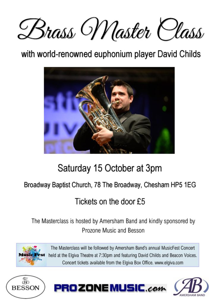 MasterClass with David Childs